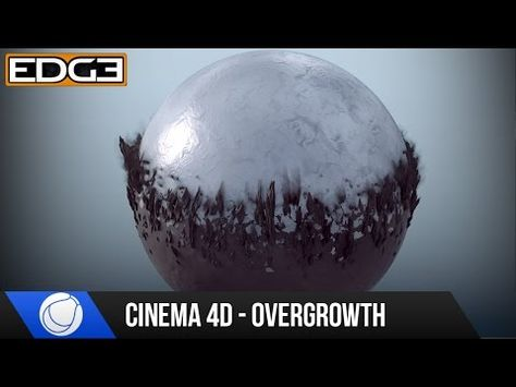 Cinema 4D Mograph Tutorial - Overgrowth Transition Effect & Rendering HD - YouTube