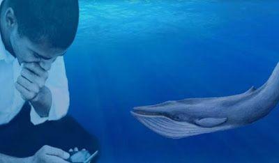 تعرف علي لعبة الحوت الأزرق بالكامل وكيف تقود المراهقين إلى الانتحار Blue Whale Whale Blue