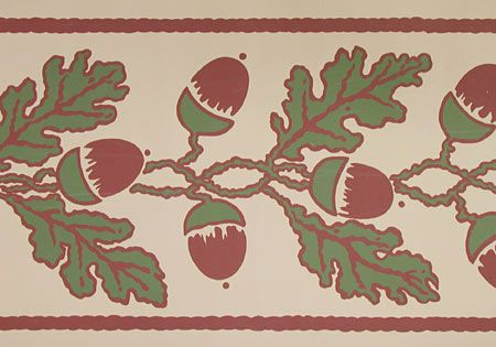 Oak leaves border - $37.95 - 5 yards by 8 inches.