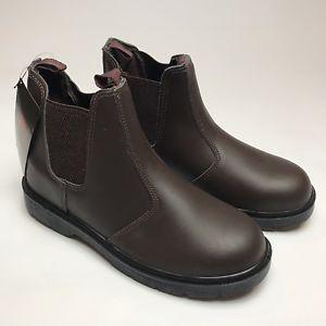 8f06b414faa Details about Black Rock Dealer Safety Boots Brown UK 10 Steel Toe ...