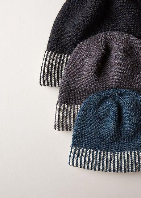 Ravelry: Striped Cuff Hat pattern by Purl Soho | E