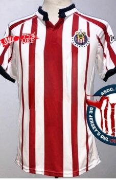 outlet store 48928 8ed68 2018-19 Cheap Jersey Chivas Home Replica Red Shirt [CFC332 ...