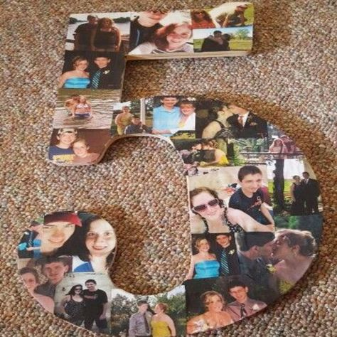 DIY Picture Collage Letters Ideas – We Tried It! Let's Make a Photo Collage on Wood – Clever DIY Ideas Simple DIY picture collage letters and numbers for handmade gifts and unique wall decor – Photo Collage on Wood DIY ideas and video tutorial 5th Anniversary Ideas, Anniversary Gift Ideas For Him Boyfriend, Happy Anniversary, Boyfriend Gifts, 5th Wedding Anniversary Gifts For Him, Five Year Anniversary Gift, Aniversary Ideas, Second Anniversary, Wedding Gifts