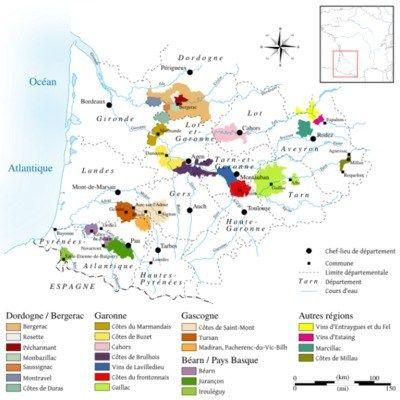 Vignoble Du Sud Ouest Sud Ouest Vin De France Vins
