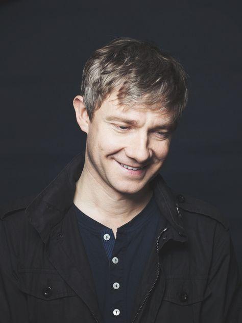 Martin Freeman everyone's favorite hobbit. And Watson.