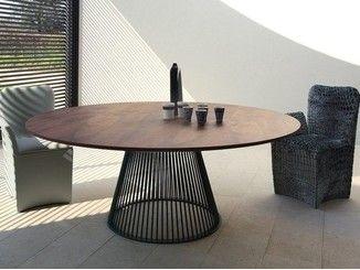 Tavolo rotondo in stile moderno VENEZIA | Tavolo rotondo ...