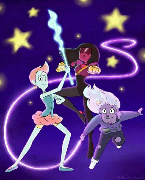 Steven Universe Pearl Amethyst And Garnet Steven Universe