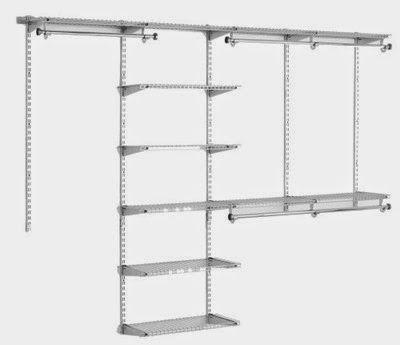 closet storage systems elfa vs rubbermaid vs closetmaid most rh pinterest com
