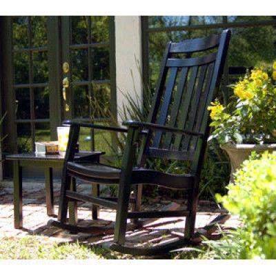 Wondrous Worlds Finest Brazilian Cherry Outdoor Rocker Painted Machost Co Dining Chair Design Ideas Machostcouk
