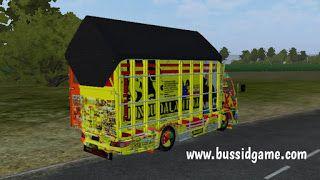 Mod Truck Canter Anti Gosip By Rmc Creation Gudang Livery Skin Dan Mod Bus Simulator Indonesia Pintu Interior Terpal Gudang
