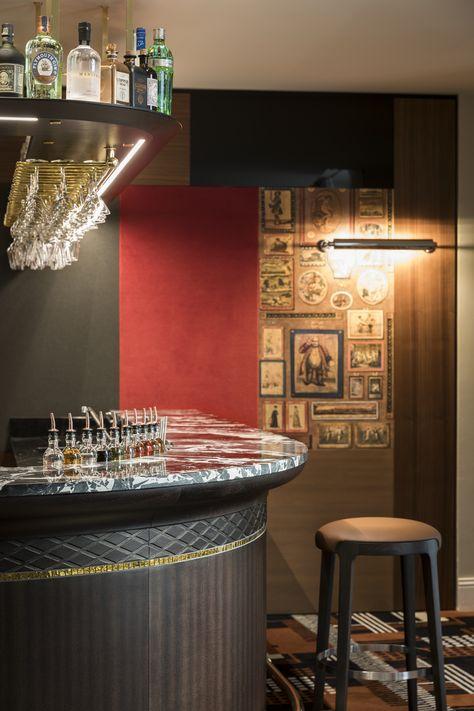 tristan auer bar interior design h tel le place d armes luxembourg rh pinterest ie