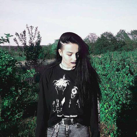 Black Metal girl - Black Metal Woman - #blackmetalgirl - #blackmetalgirls - #blackmetalwoman - bm girl - bm woman