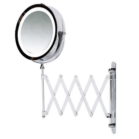 Kenley 7 Bathroom Extending Wall Mounted Magnifying Make Up
