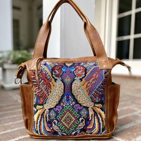 Leather Purse Tote Bag Fairy Forest Unicorn for Women Vintage Designs Handbag Crossbody