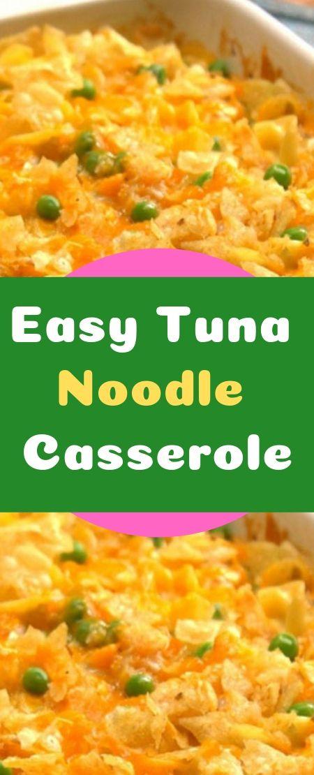 Easy Tuna Noodle Casserole Tuna Noodle Casserole Noodle Casserole Seafood Recipes