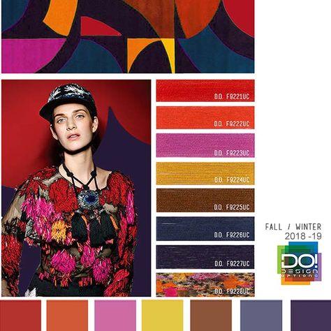color report on Women's Market Mood details: Urban Dweller, detail.