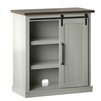 Gracie Oaks Moraga 1 Door Accent Cabinet Colour Old World White In 2020 Cabinet Colors Cabinet Locker Storage