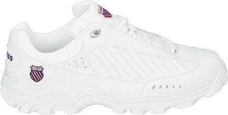 K Swiss Herren White Navy Sneaker Sneaker S Kswiss Thelen K