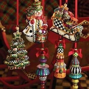 Mackenzie Childs Christmas.Mackenzie Childs Christmas Ornaments By Pato Garabato