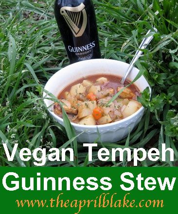 Vegan Guinness Stew For St Pat S Day Guinness Stew Tempeh Stew
