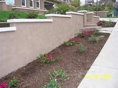 stucco retaining wall brick cap retaining wall bricks retaining