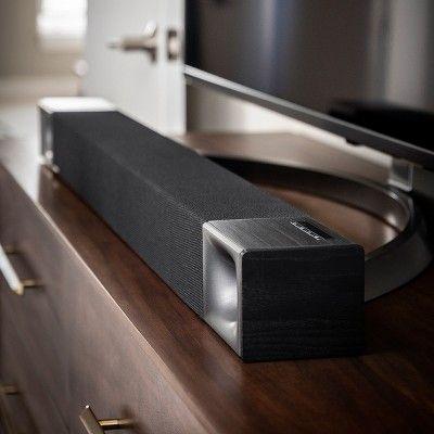 Klipsch Bar 40 2 1 Sound Bar With Wireless Subwoofer Black Sound Bar Klipsch Subwoofer