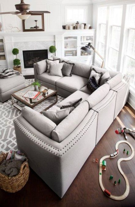 16 Ideas For Living Room Rug Placement Sectional Apartment Therapy Apartment Livingroom Livingroom Layout Sectional Sofa Layout Sofa Layout