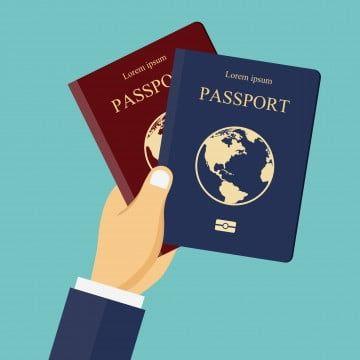 Pasaporte De Boleto De Viaje Pintado En El Extranjero Imagenes Predisenadas De Viaje Vector Png Temporada De Viaje Pintada Png Y Psd Para Descargar Gratis Red And Blue Passport Dream Background