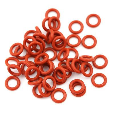 Ad Ebay Url 50 Pcs Red Silicone O Ring Seal Washers 10mm X 6mm X 2mm D Ep In 2020 O Ring Led Ring Things To Sell