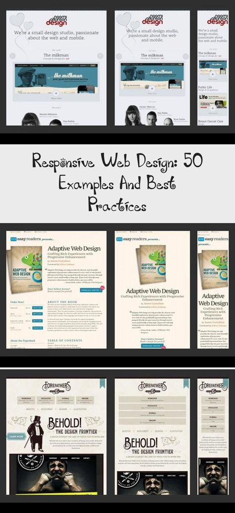 Responsive Web Design 50 Examples And Best Practices In 2020 Adaptive Design Web Design