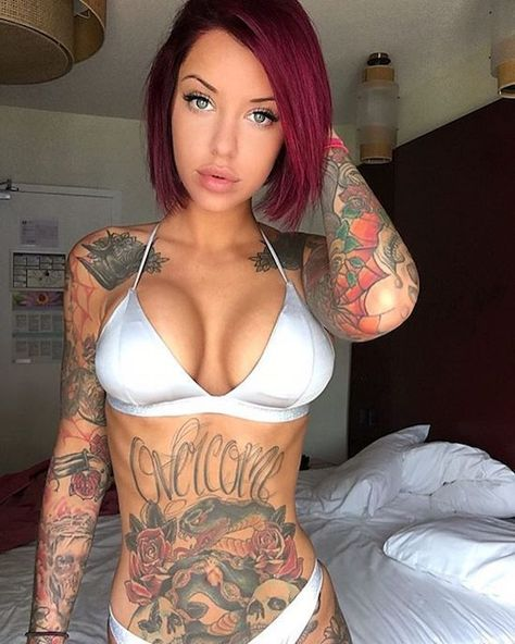 Get Inspired by tattoo girls