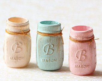 DOLLHOUSE MINIATURE JELLY JARS