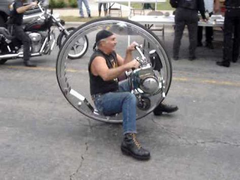 Ahmet C, Aydogan, try it, Wheels of Tomorrow One Wheeler (Monocycle)