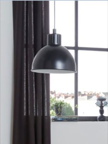 Cette Suspension De Style Industriel En Metal Noir S Invite Dans Votre Interieur Et Donne Du Caractere Et De La Personnalit En 2020 Castorama Luminaire Maison Art Deco