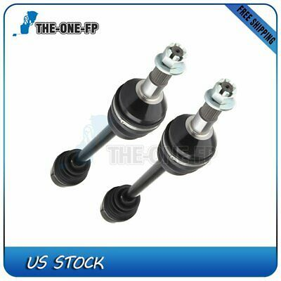 FOR CAN-AM COMMANDER 1000 4X4 2013 2014 2015 REAR LEFT and RIGHT CV JOINT AXLES
