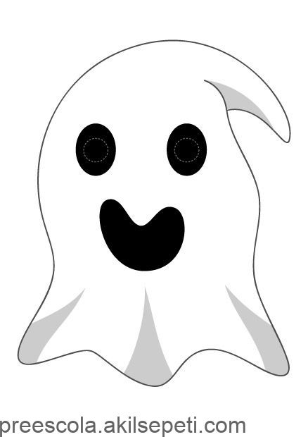 Masque De Fantome A Imprimer Pour Halloween Mască