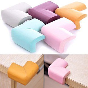 Soft Baby Safty Corner cushions Protector Baby Kids Table Desk Corner Guard Children Safety Edge Guards - Avoid Tutorial and Ideas Baby Table, Kid Table, Table Desk, Corner Table, Baby Safety, Child Safety, Baby Gadgets, Baby Must Haves, Baby Cover