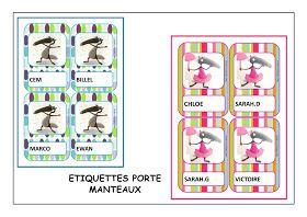Chez Maicresse Karine Etiquettes Porte Manteaux