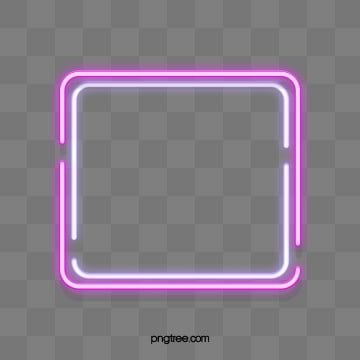 Double Deck Disconnected Square Neon Effect Geometric Border Border Clipart Border Light Png Transparent Clipart Image And Psd File For Free Download Neon Simple Phone Wallpapers Clip Art