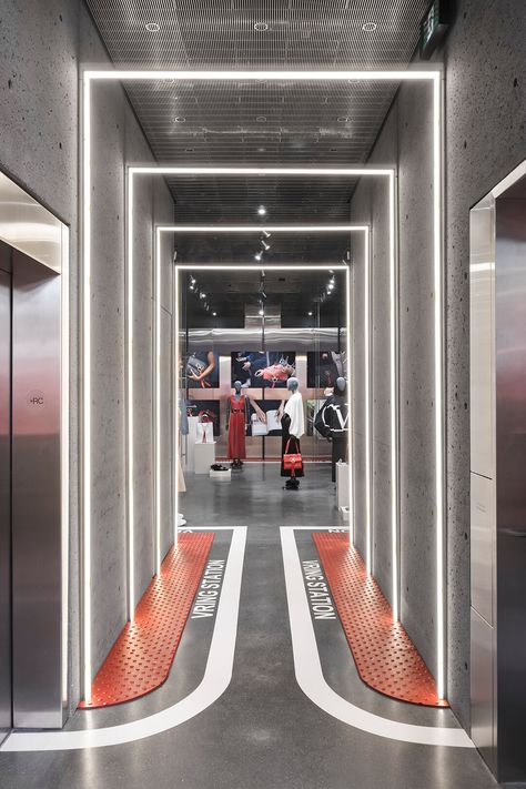Welcome to VRing Station: Ssense's new Valentino pop-up is all about shared space