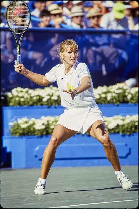 Pin By Oliver Crown On Steffi Graf Tennis Photos Steffi Graf Tennis