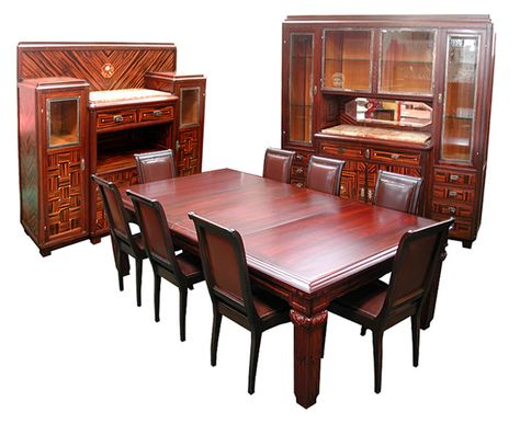 54 Art Deco Dining Tables Dining Chairs Buffets Ideas Art Deco Deco Dining Chairs