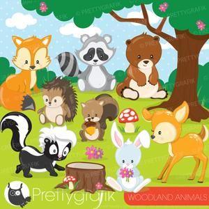 30+ Enchanted Animal Clipart Free