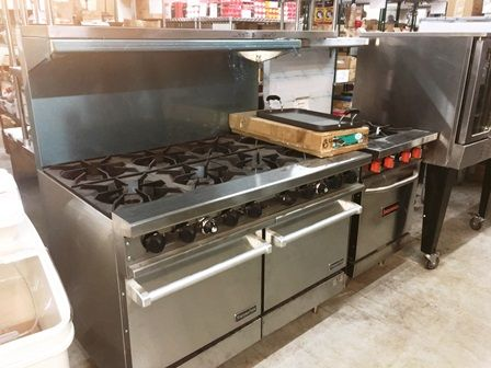 Restaurant Equipment Commercial Gas Range Stoves 6 To 8