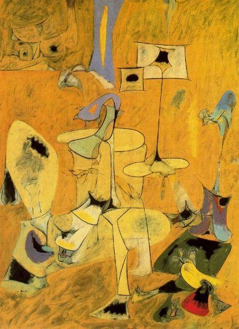 Artcafe Arshile Gorky Expressionismo Abstrato Arte