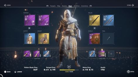 Assassin's Creed: Origins Hidden Blade and Upgrade Guide