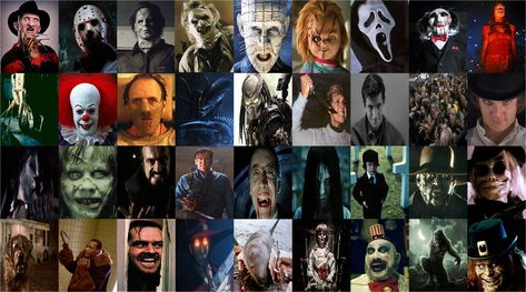 Horror Movie characters by xxphilipshow547xx on DeviantArt