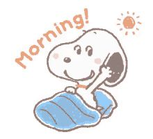 Snoopy Good Morning GIF - Snoopy GoodMorning GIFs