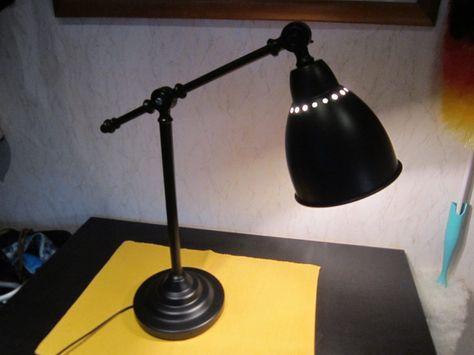 Ikea Barometer Arbeitsleuchte Schwarz Schreibtischlampe Leuchte