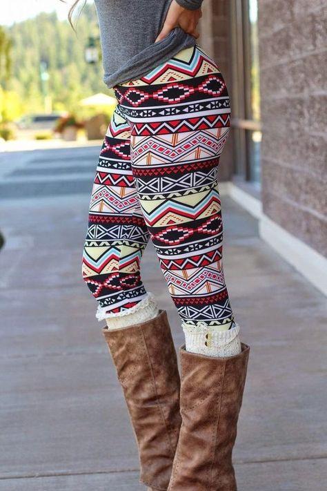 Wie trägt man einen Aztec Print-Trend für Frauen | Outfit